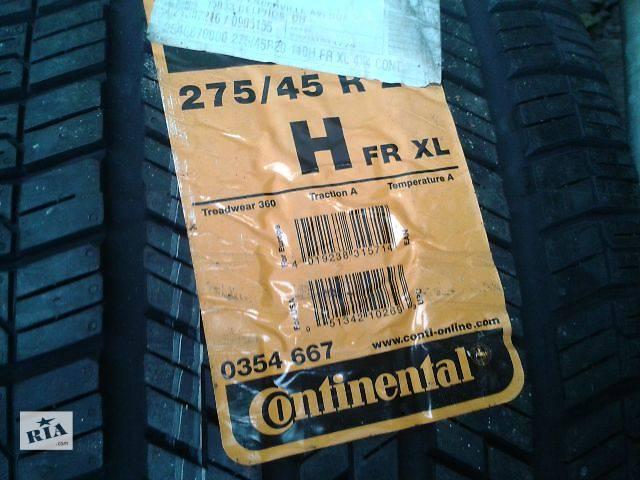 купить бу б/у Колеса и шины Шины Летние Continental R20 275 45 Легковой в Киеве