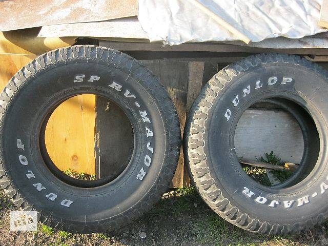 б/у Колеса и шины Шины Всесезонные Dunlop R15 Двигатель- объявление о продаже  в Зборове