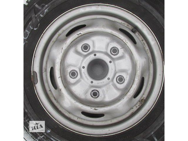 купить бу б/у комплект стальных колесных дисков Ford transit 5,5x15 в Ковеле