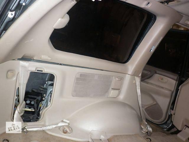 бу б/у Компоненты кузова Карта багажного отсека Легковой Toyota Land Cruiser 100 2001 в Луцке
