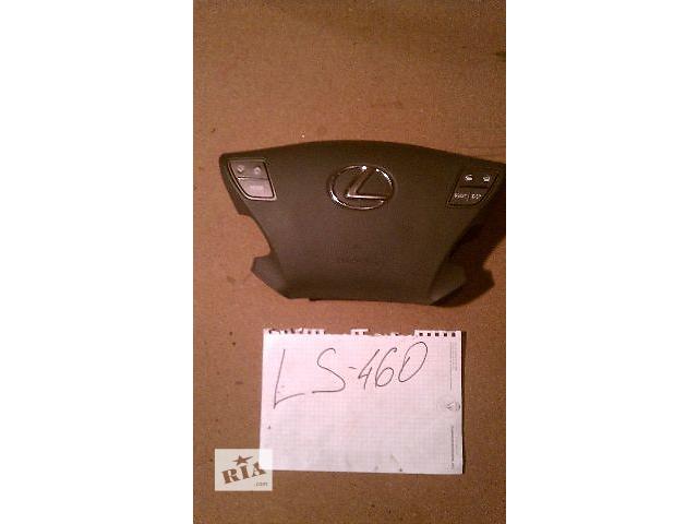 продам б/у подушка безопасности в руль 45130-50230-C0 (AIRBAG водителя) для седана Lexus LS 460 2007г бу в Киеве