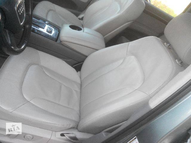 бу б/у Компоненты кузова Салон Легковой Audi Q7 в Львове