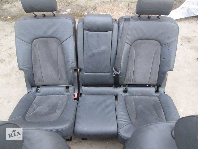 продам б/у Компоненты кузова Салон сідушки Легковой Audi Q7 2012 бу в Ковеле