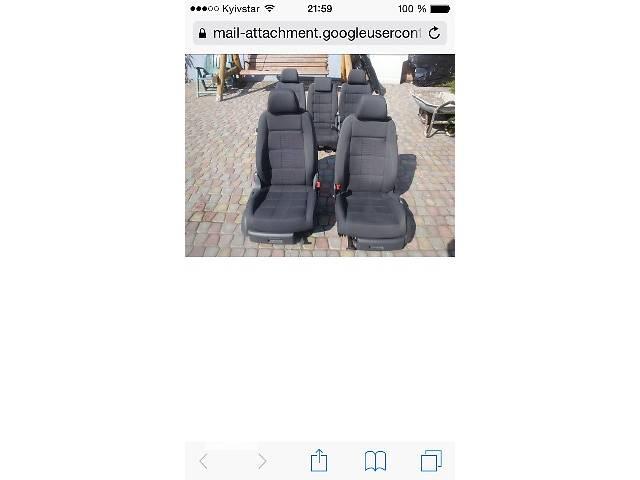 купить бу б/у Компоненты кузова Сиденье Легковой Volkswagen Caddy в Ковеле