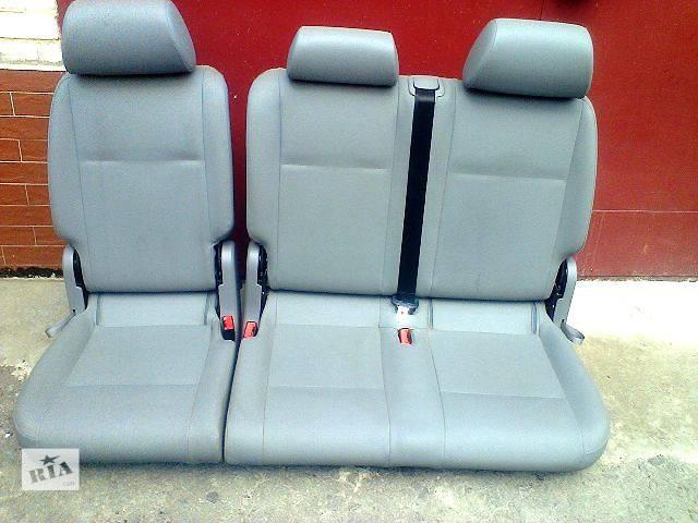 продам Б/у Компоненты кузова Сиденье Легковой Volkswagen Caddy пасс. 2009 бу в Луцке
