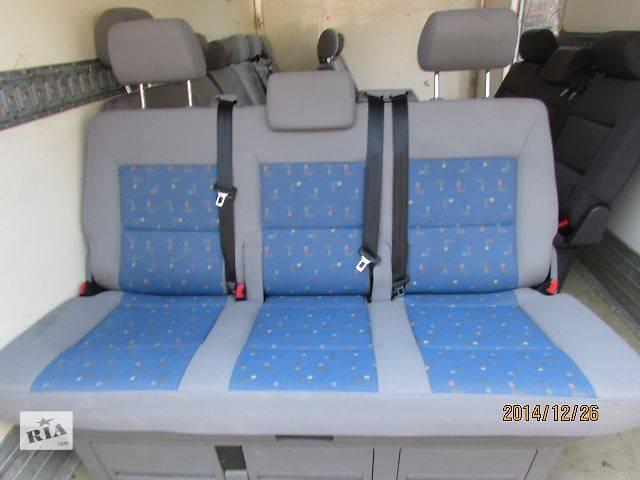 бу Б/у Компоненты кузова Сиденье Легковой Volkswagen Multivan 2009 в Хусте