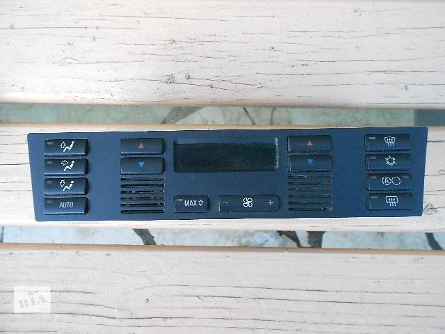 бу б/у Блок управления печкой/климатконтролем Легковой BMW 5 Series 5D 2002 в Ужгороде