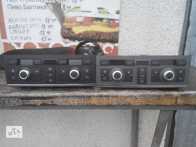 купить бу б/у Кондиционер, обогреватель, вентиляция Блок управления печкой/климатконтролем Легковой Audi в Львове