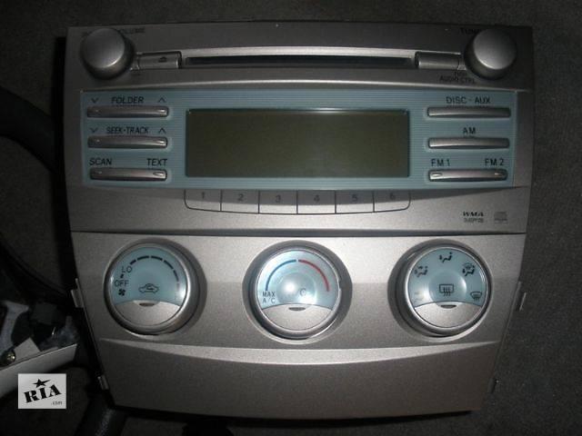 купить бу б/у Кондиционер, обогреватель, вентиляция Блок управления печкой/климатконтролем Легковой Toyota Camry Седан 2008 в Луцке