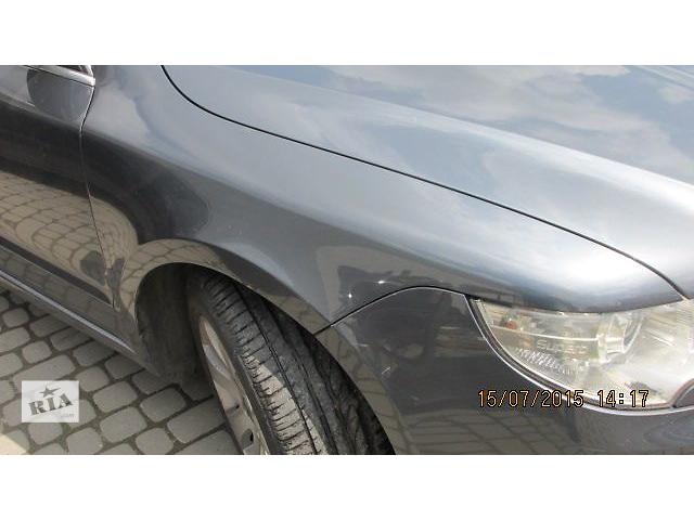купить бу Б/у крыло переднее для хэтчбека Skoda SuperB New 2010 в Львове