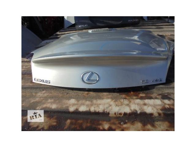купить бу Б/у крышка багажника 64401-24180 для кабриолета Lexus SC430 2007г в Киеве