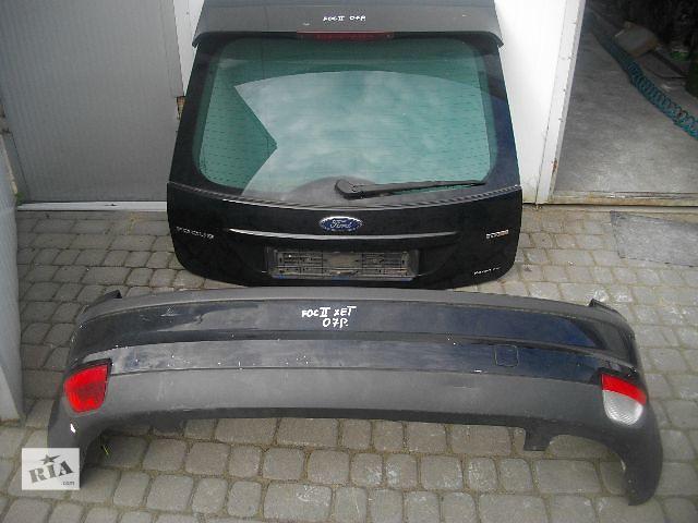 купить бу Б/у крышка багажника для хэтчбека Ford Focus 2007 в Львове