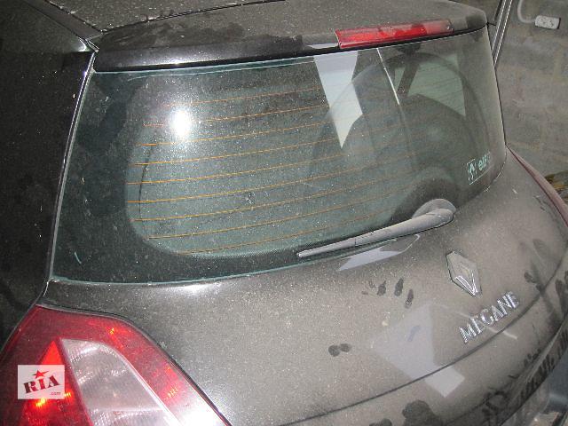 купить бу Б/у крышка багажника для хэтчбека Renault Megane 2004 в Харькове