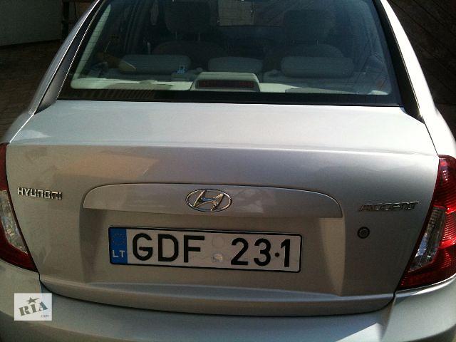 купить бу Б/у крышка багажника для легкового авто Hyundai Accent в Клевани