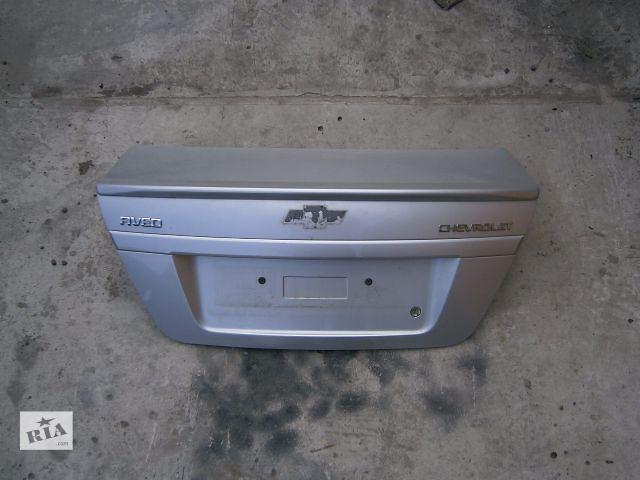 Б/у крышка багажника для седана Chevrolet Aveo- объявление о продаже  в Луцке