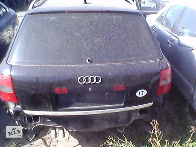 купить бу Б/у кришка багажника для універсалу Audi A6 1999 в Ивано-Франковске
