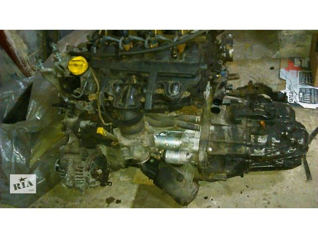 купить бу Б/у мотор вместе с КПП Renault Master 2.5 DCI 2005 года Opel Movano, Nissan Interstar в Владимир-Волынском