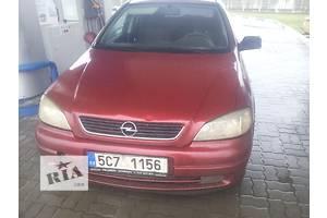 б/у Накладка бампера Opel Astra G