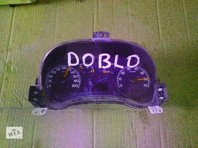Б/у панель приборов/спидометр/тахограф/топограф для легкового авто Fiat Doblo- объявление о продаже  в Ковеле