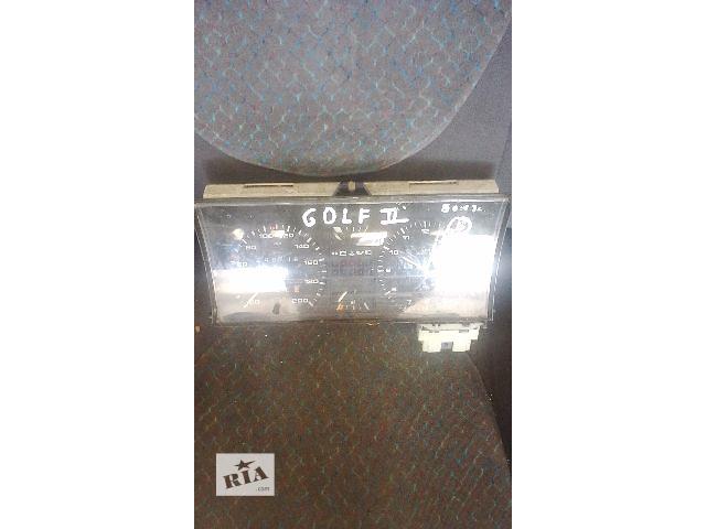 продам Б/у панель приборов/спидометр/тахограф/топограф для седана Volkswagen Golf II бу в Бучаче