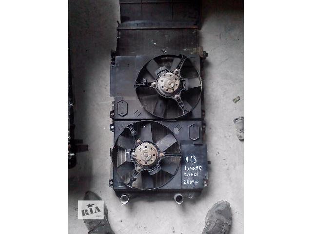 купить бу Б/у радіатор для мікроавтобуса Citroen Jumper 2005 в Ивано-Франковске