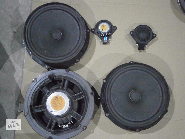 бу Б/у радио и аудиооборудование/динамики для легкового авто Skoda SuperB New в Луцке