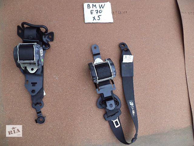 купить бу Б/у ремень безопасности для кроссовера BMW X5 2008 в Киеве