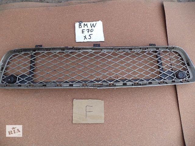бу Б/у решётка радиатора для кроссовера BMW X5 2008 в Киеве
