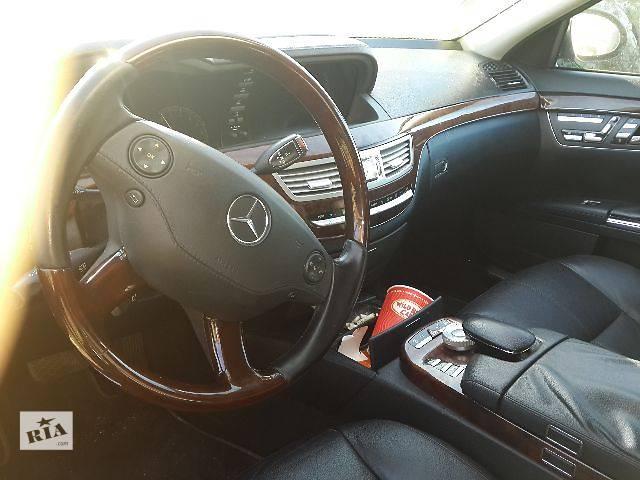 купить бу б/у Рулевое управление Руль Легковой Mercedes S-Class Седан 2008 в Львове