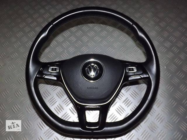 купить бу б/у Рулевое управление Руль Легковой Volkswagen Passat B7 B8 T6 GOLF VII  2014 в Старом Самборе