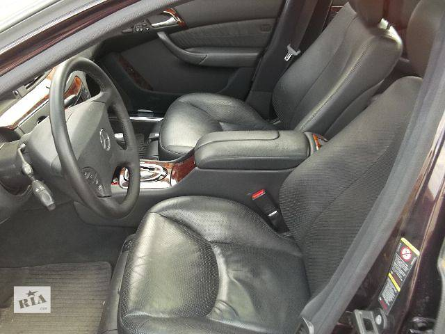 купить бу б/у Рулевое управление Рулевая рейка Легковой Mercedes S 500 4matic Седан 2004 в Львове
