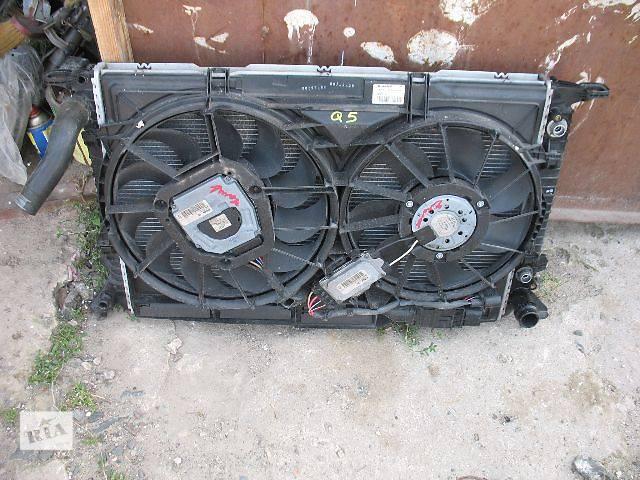 бу б/у Система охлаждения Вентилятор осн радиатора Легковой Audi Q5 в Луцке