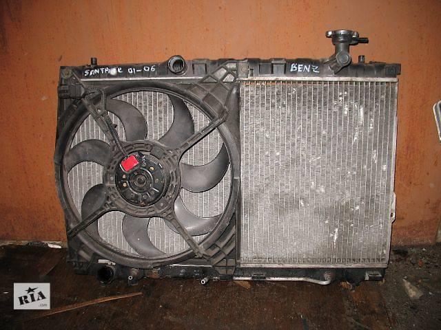 б/у Система охлаждения Вентилятор осн радиатора Легковой Hyundai Santa FE 2004- объявление о продаже  в Луцке