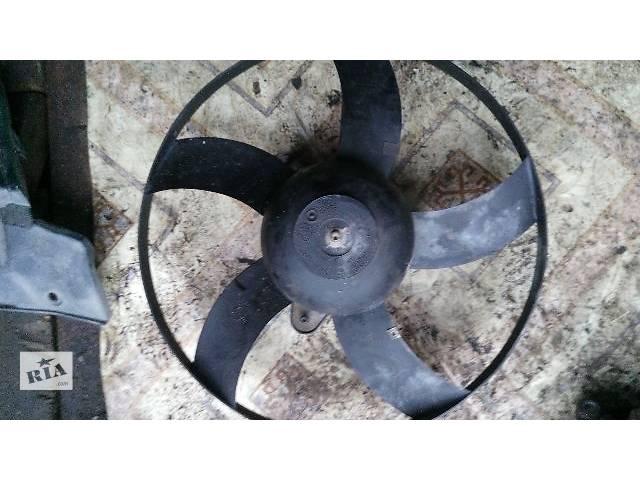 купить бу б/у Система охлаждения Вентилятор осн радиатора Легковой Skoda Fabia 2012 в Киеве