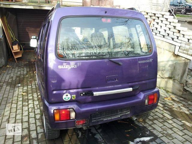 бу б/у Система впуска и выпуска Глушитель Легковой Suzuki Wagon R 1999 в Сторожинце