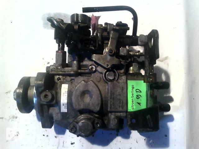 купить бу б/у Топливная система Топливный насос высокого давления/трубки/шест Легковой Peugeot Partner1.9D в Ковеле