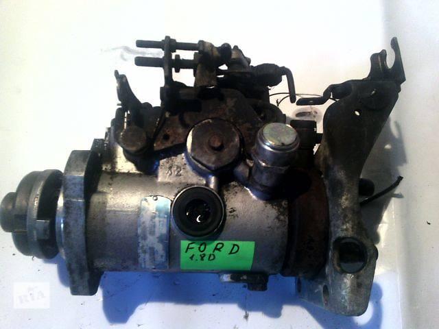 купить бу б/у Топливная система Топливный насос высокого давления/трубки/шест Легковой Ford 1.8D в Ковеле