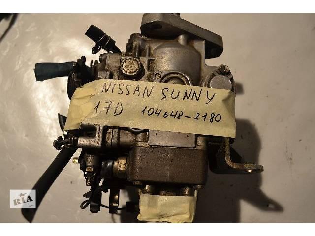 купить бу Б/у Топливная система Топливный насос высокого давления/трубки/шестерня Легковой Nissan Sunny 1.7D в Ковеле