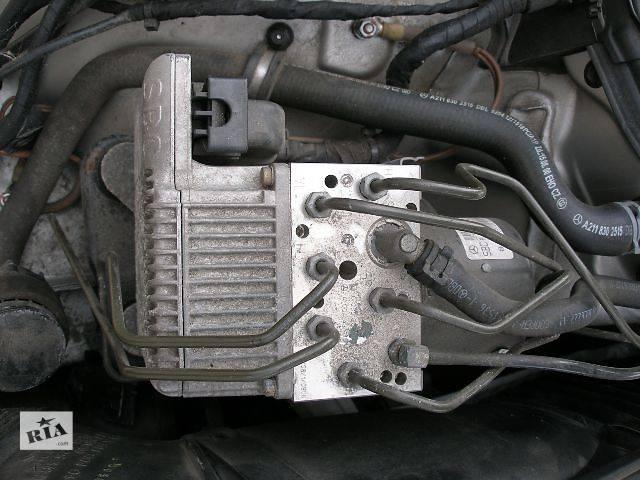купить бу б/у Тормозная система АБС и датчики Легковой Mercedes E-Class в Бахмуте (Артемовск)
