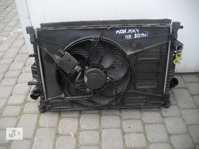 бу Б/у вентилятор осн радиатора для легкового авто Ford Mondeo 2011 в Львове