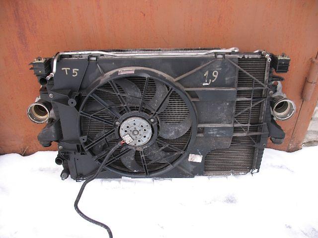 Б/у вентилятор осн радиатора для легкового авто Volkswagen T5 (Transporter)- объявление о продаже  в Луцке