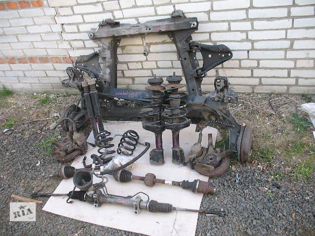 купить бу б/у Задний/передний мост/балка, подвеска, амортиз Балка передней подвески Легковой Renault Symbol 20 в Луцке