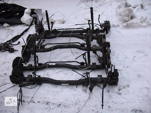 б/у Задний/передний мост/балка, подвеска, амортиз Балка задней подвески Легковой Volkswagen Caddy 2006- объявление о продаже  в Луцке