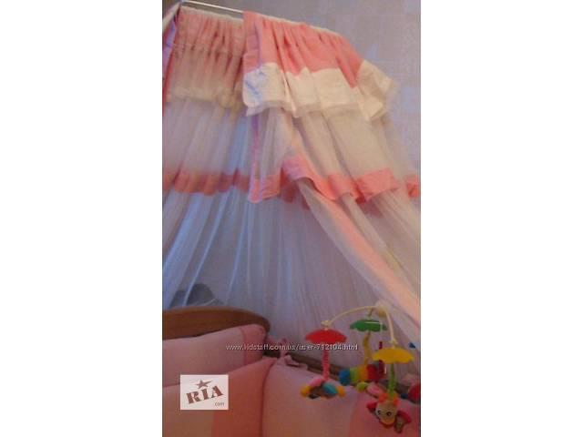 купить бу Балдахин на детскую кроватку для девочки Feretti в Южном