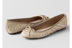 Новые Балетки Lands End Amelia Thong Sandals