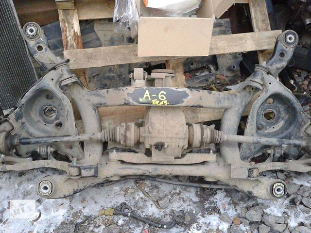 продам Балка задней подвески. Редуктор задний Audi A6, объём 3.0, 2003-2009 год. бу в Киеве