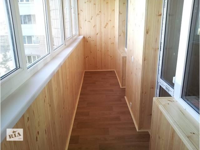 продам Балкон под Ключ в Киеве, Вынос балкона, Обшивка. бу в Киеве