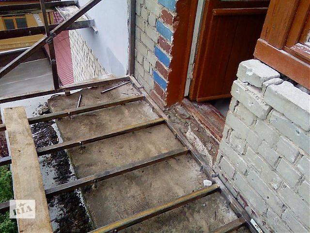 бу Балкон, каркас в Тернополе