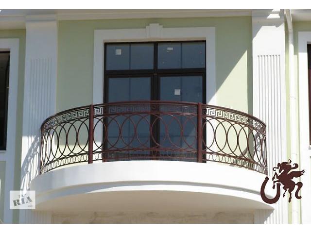 купить бу Балконные ограждения металлические в Харькове