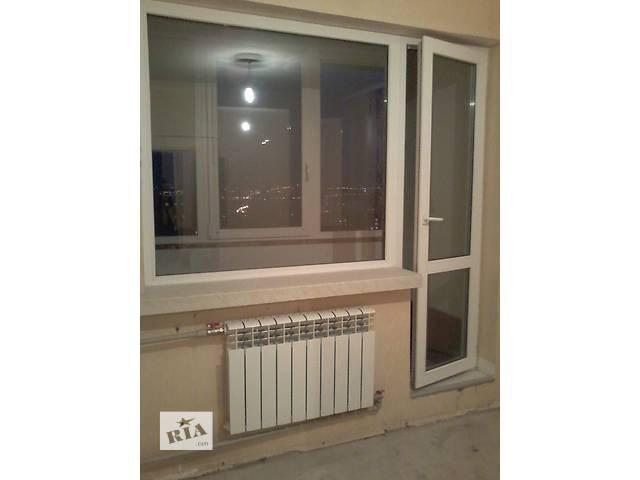 купить бу Балконный блок металлопластиковый в Харькове